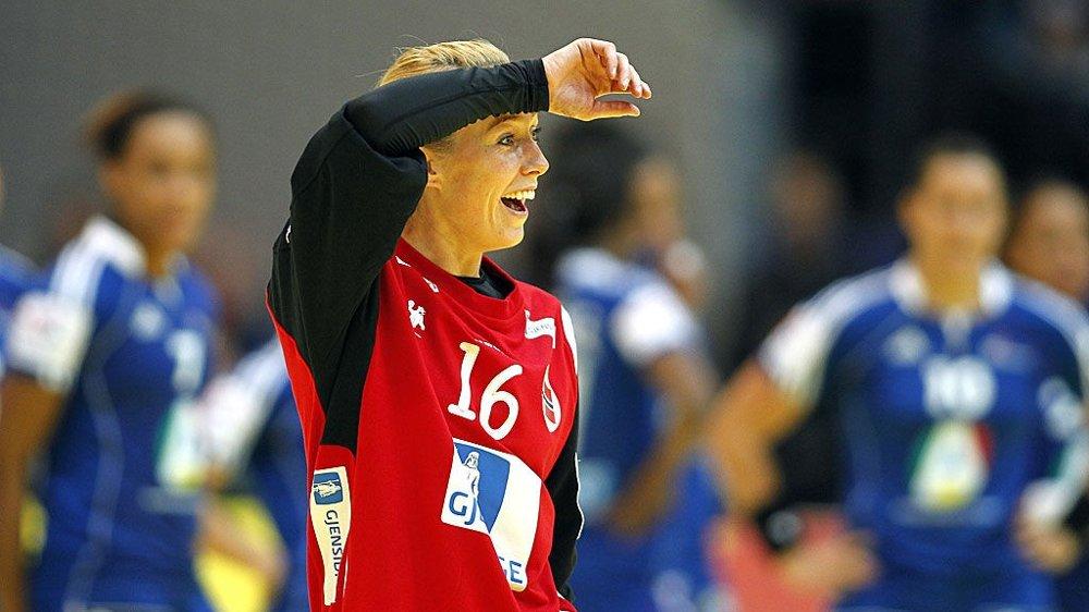 Katrine Lunde Haraldsen Handball Em Keeper Katrine Frykter Ingen