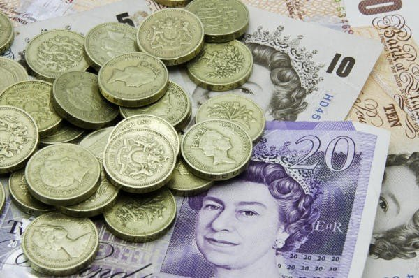 engelsk pund til kroner