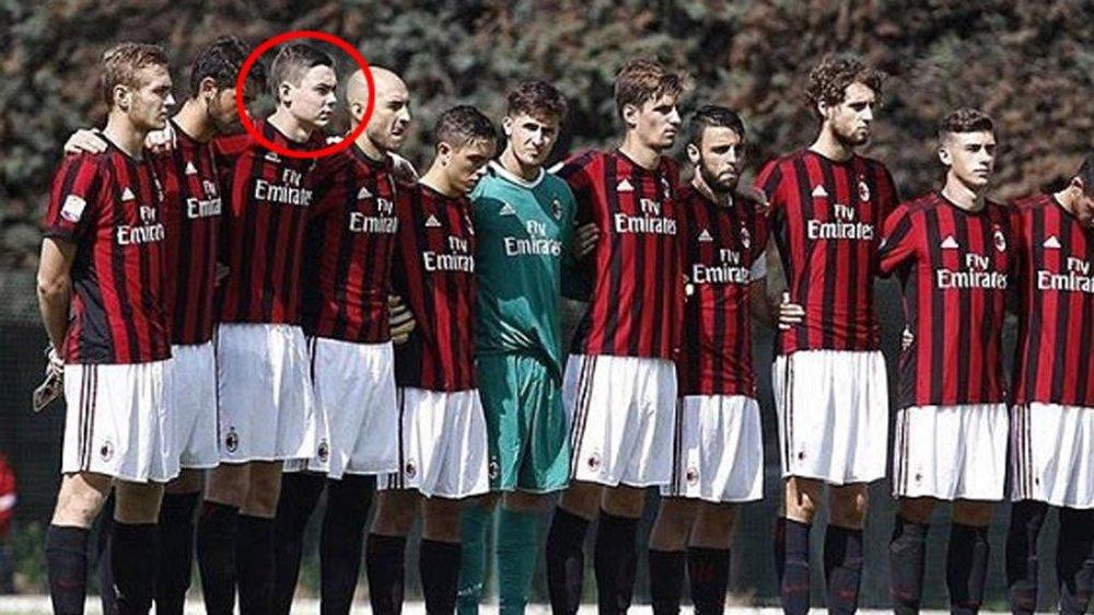 Strand Larsen (17) fikk trene med Milans A-lag: - Fikk sjokk da jeg så hvor  fort det gikk