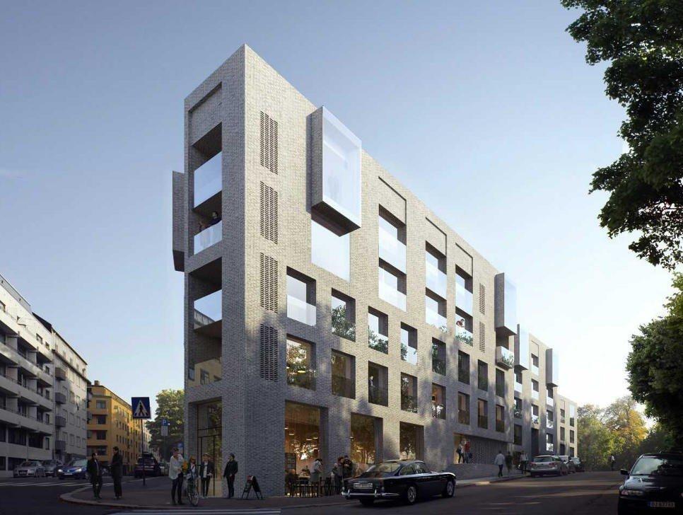 812fc1d9c Her kommer 59 nye boliger i Oslo sentrum