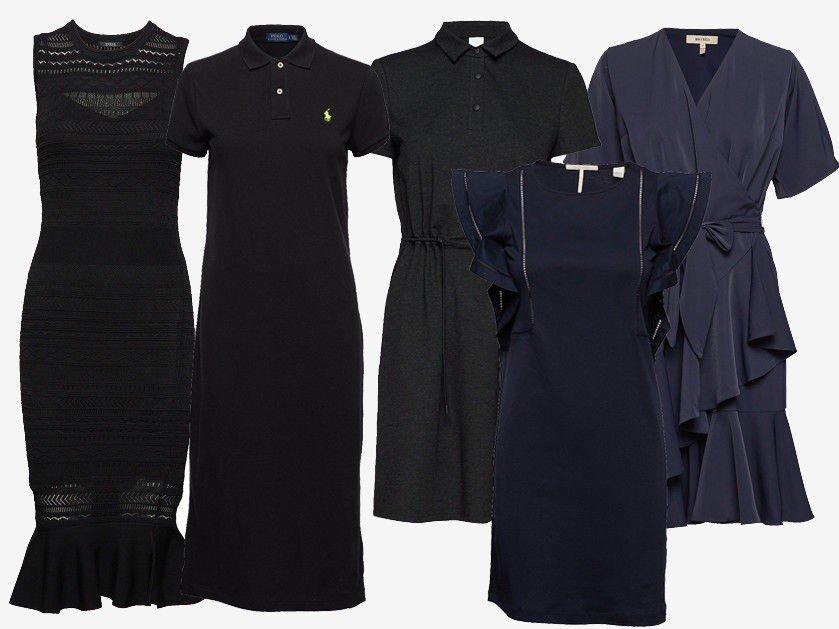 c72b3d01 Det er ingen hemmelighet at en sort kjole går nesten til alle anledninger.  De er klassiske og går aldri av moten. Du får garantert en mer sofistikert  og ...