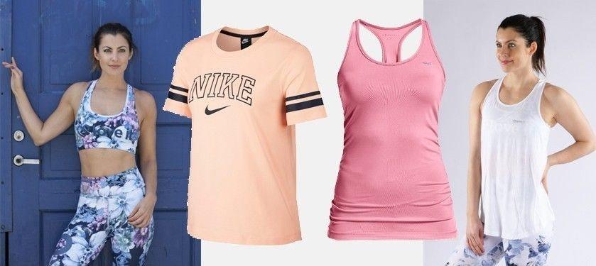 e734a8ce Sports BH fra Love It - T-skjorte fra Nike - Singlet fra Röhnisch - Singlet fra  Love It