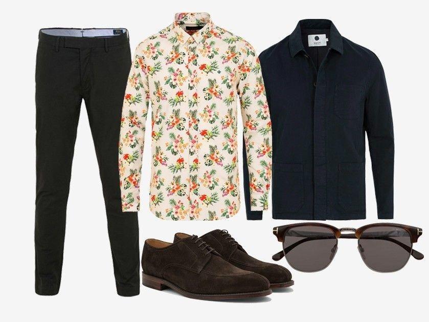 a9a3af92 Bukse fra Polo Ralph Lauren - Skjorte fra Morris - Jakke fra NN07 - Sko fra  Loake 1880 - Solbriller fra Tom Ford