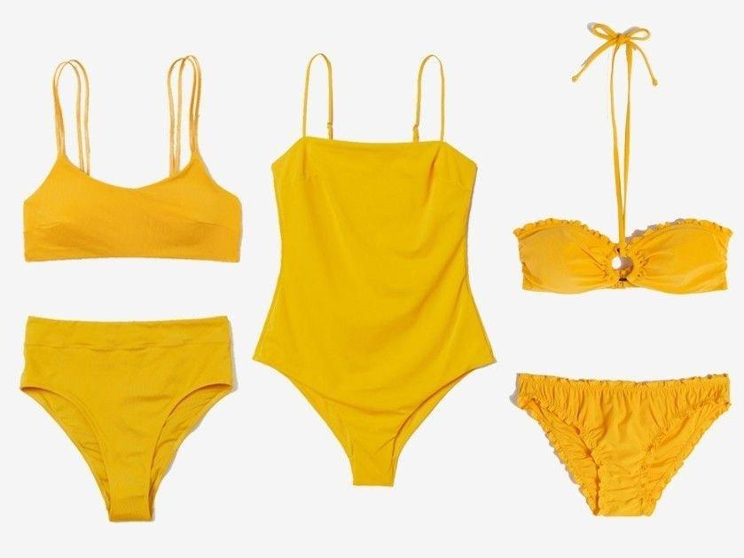 09a01a94 Bikinitopp fra H&M - Bikinitruse fra H&M - Badedrakt fra H&M - Bikinitopp  fra & Other Stories - Bikinitruse fra & Other Stories