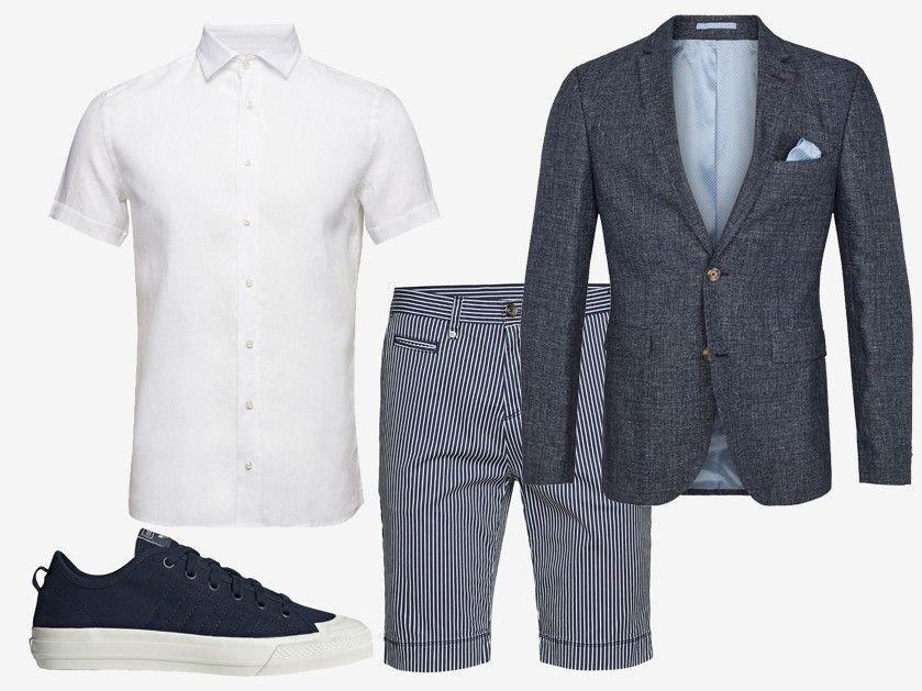 f34c84be Fargen blått kler det meste, og er en fin farge som skriker maritim sommer.  Denne blazeren fra SAND er i deilig blanding av ull og lin som gir et  elegant, ...