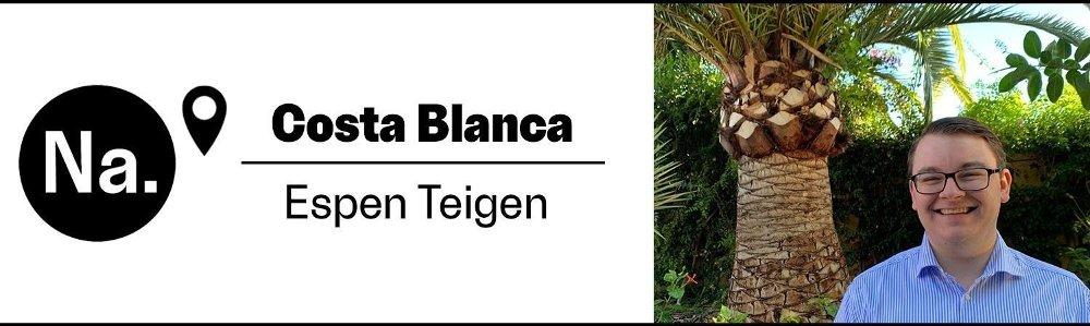 Klikk på bildet for å forstørre. Reporter Espen Teigen er til stede på Costa Blanca i Spania.