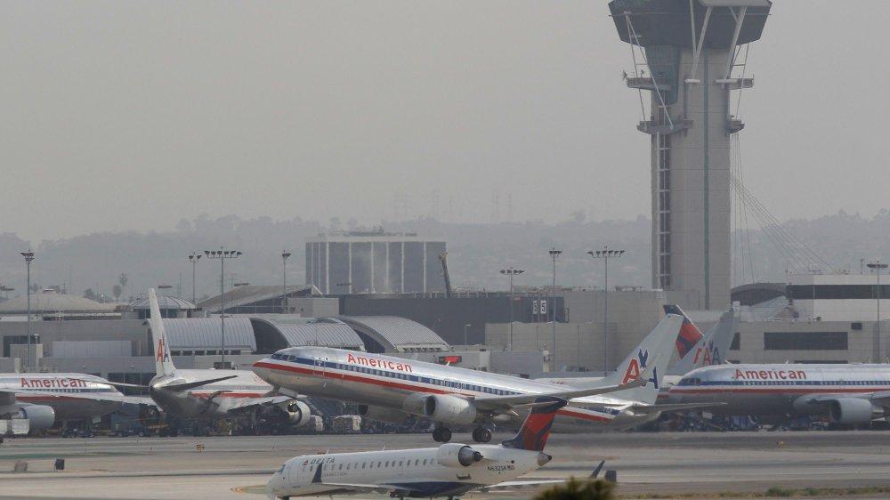 Klikk på bildet for å forstørre. Los Angeles internasjonale flyplass.