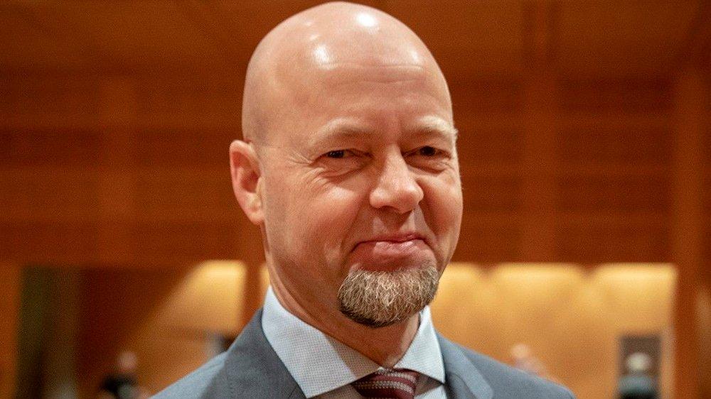 Klikk på bildet for å forstørre. GIR SEG ETTER 12 ÅR: Yngve Slyngstad går av som toppsjef i Oljefondet etter 12 år i sjefsstolen, men skal fortsatt jobbe i fondet fremover.