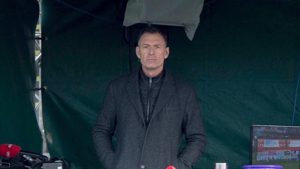 Klikk på bildet for å forstørre. EKSPERT: Chris Sutton mener Gerrard er avhengig av et trofé om han vil beholde Rangers-jobben.