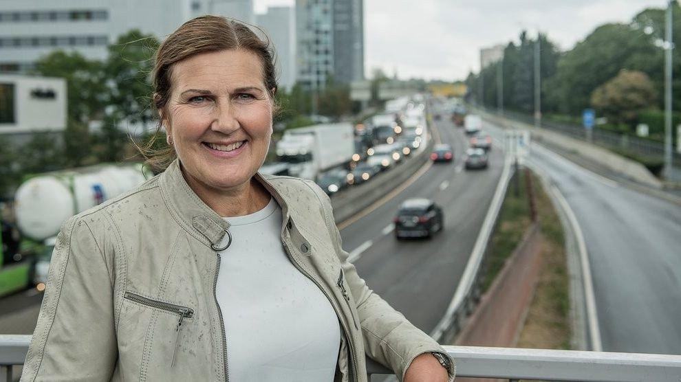 Klikk på bildet for å forstørre. Ingrid Dahl Hovland er administrerende direktør i Nye Veier AS.