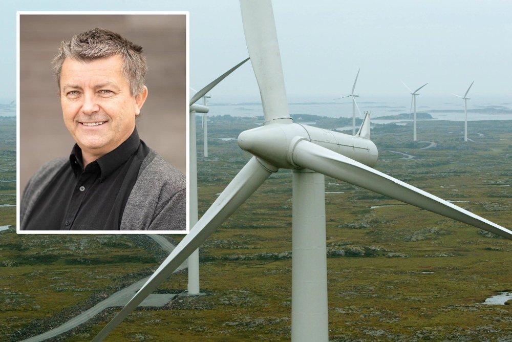 Klikk på bildet for å forstørre. Norsk Vind Energis prosjektportefølje representerer 50 prosent av de vedtatte utbyggingsmålene for fornybar energi i Rogaland innen 2020. Arbeidende styreleder Lars Helge Helvig var lønnsvinneren blant klima- og fornybartoppene i Norge i fjor.