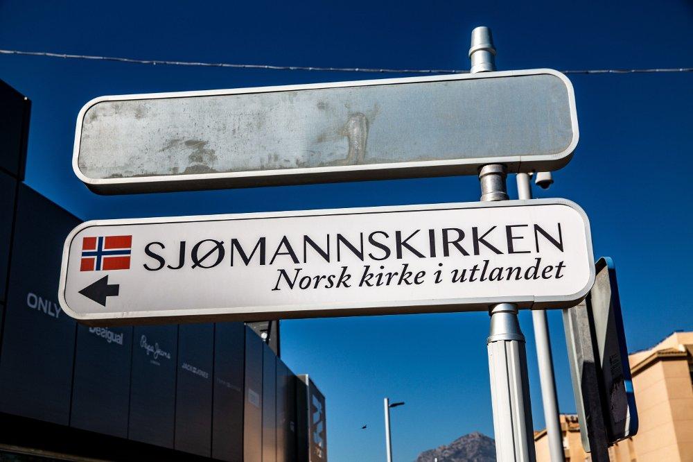 Klikk på bildet for å forstørre. Sjømannskirken i Albir.