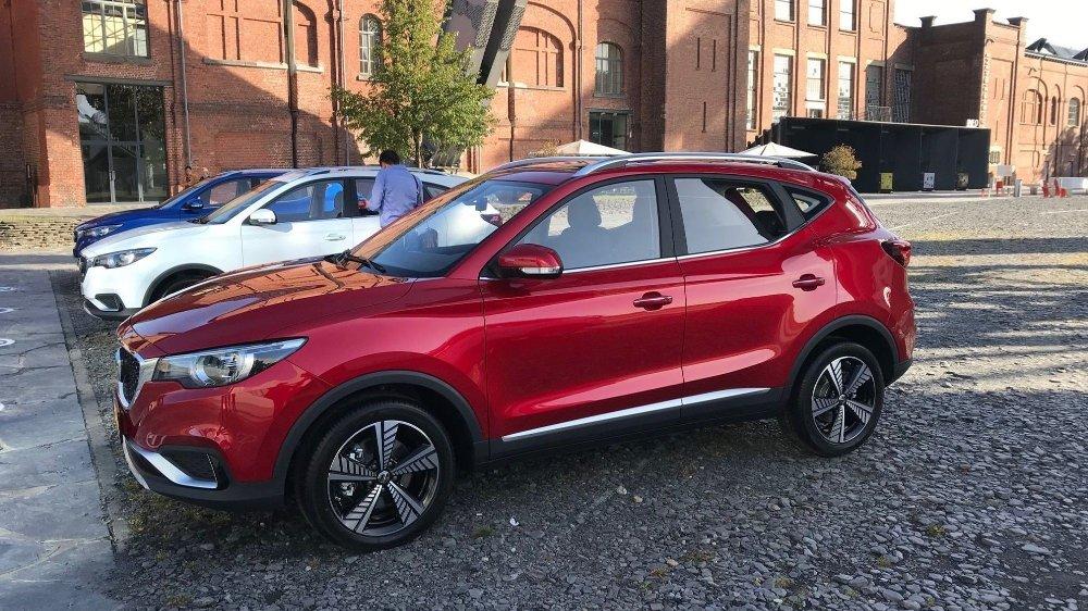 Klikk på bildet for å forstørre. MG har gått ut med startpris på 229.000 kroner for ZS EV i det norske markedet. Det er aggressivt priset.