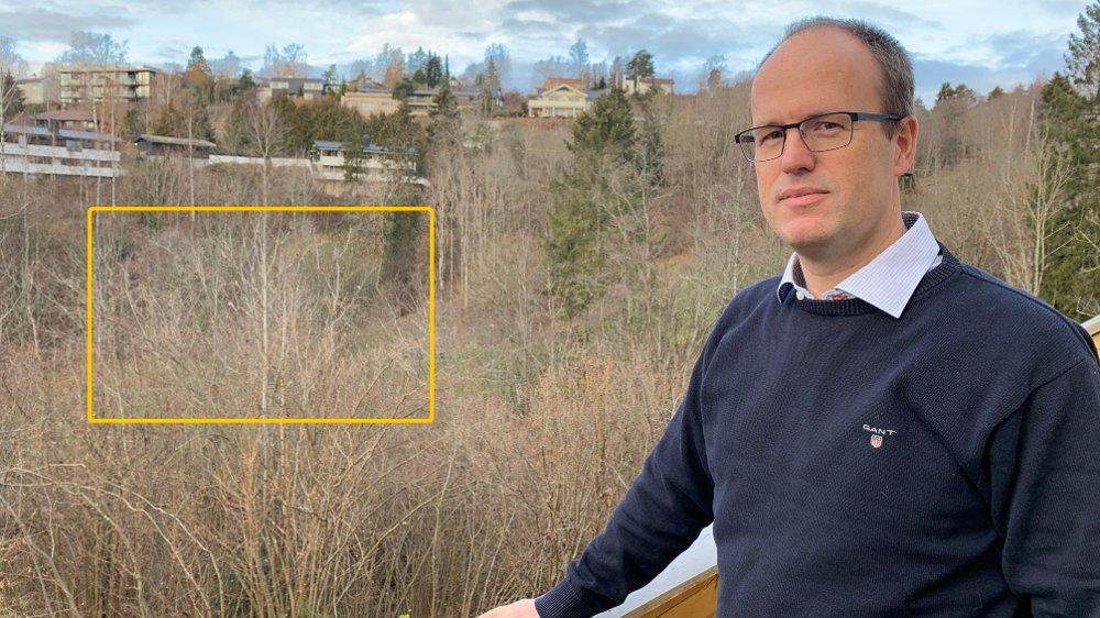 Klikk på bildet for å forstørre. Harald Anderssen i Makrellbekken interesseforening