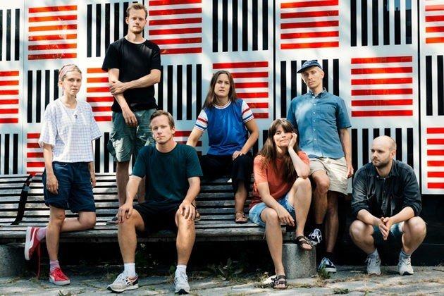Klikk på bildet for å forstørre. Jazzbandet Finity.