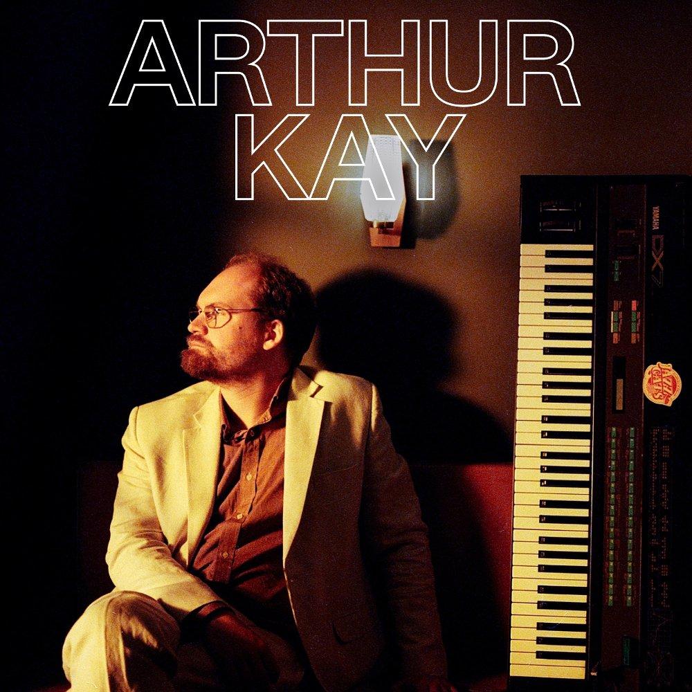 Klikk på bildet for å forstørre. Cover til Arthur Kay-plate.