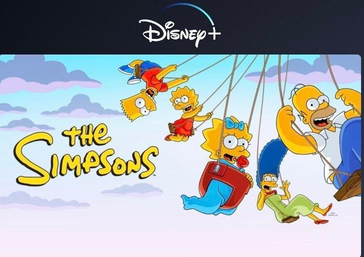 Klikk på bildet for å forstørre. Alle sesongene med The Simpson er også lagt ut på Disney+.