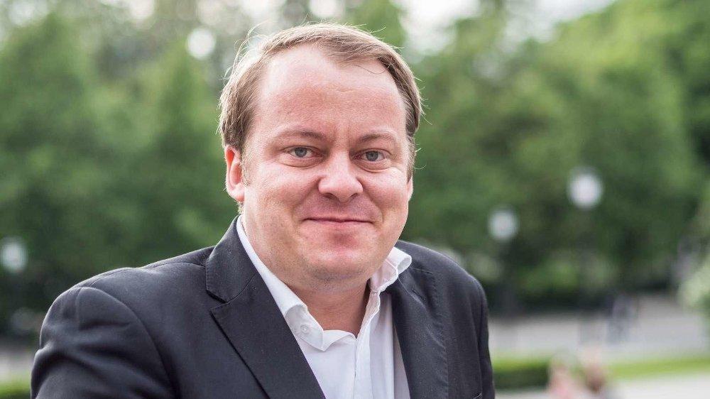 Klikk på bildet for å forstørre. Frps sosialpolitiske talsperson Erlend Wiborg mener forksjllene i Norge vil øke kraftig dersom SV kommer til makten.