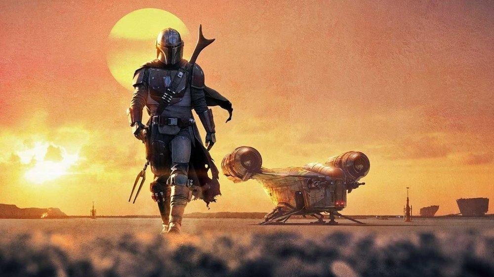 Klikk på bildet for å forstørre. I The Mandalorian er det både heftige actionscener, og flere figurer og monstre i klassisk Star Wars stil.