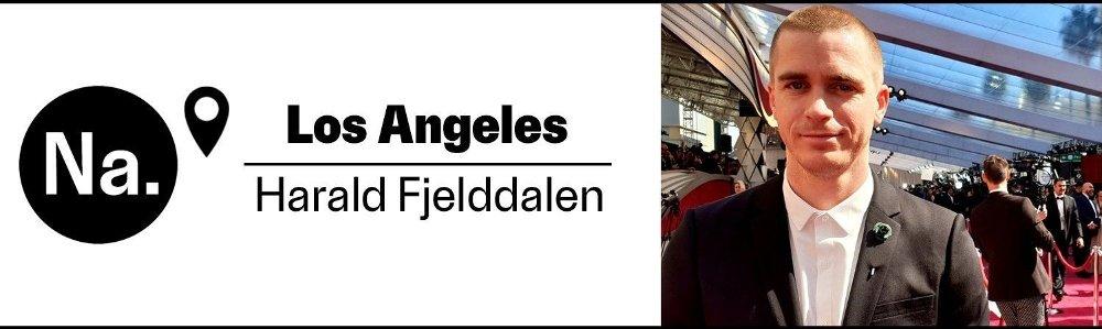 Klikk på bildet for å forstørre. Bylinefoto av Harald Fjelddalen på Oscarutdelingen.