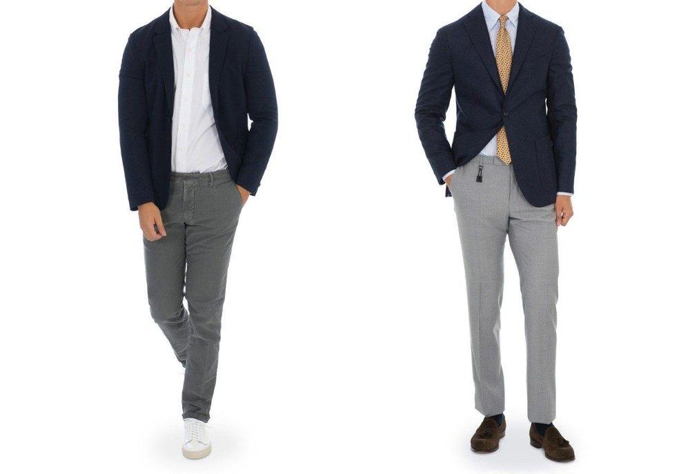 Klikk på bildet for å forstørre. Bilde av jakke og bukse