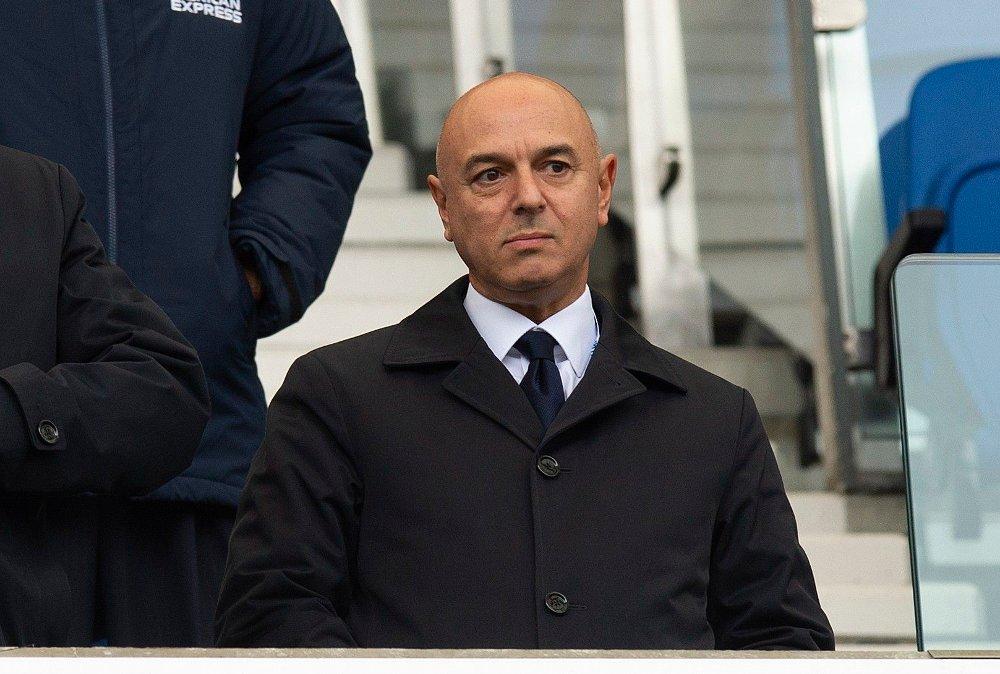 Klikk på bildet for å forstørre. SJEFEN: Daniel Levy er styreformann i Tottenham Hotspur.