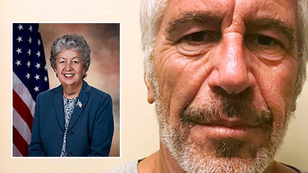Klikk på bildet for å forstørre. Fengselsdirektøren Kathleen Hawk Sawyer avga på tirsdag en vitneforklaring i forbindelse med Epstein-dødsfallet.