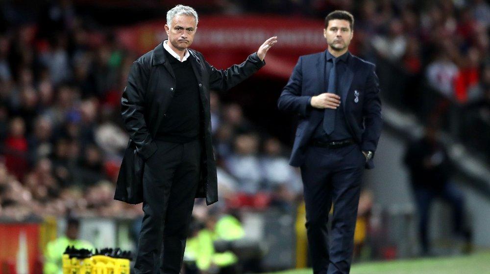 Klikk på bildet for å forstørre. THE NEXT ONE?: José Mourinho kobles som erstatteren til Mauricio Pochettino hos Tottenham.