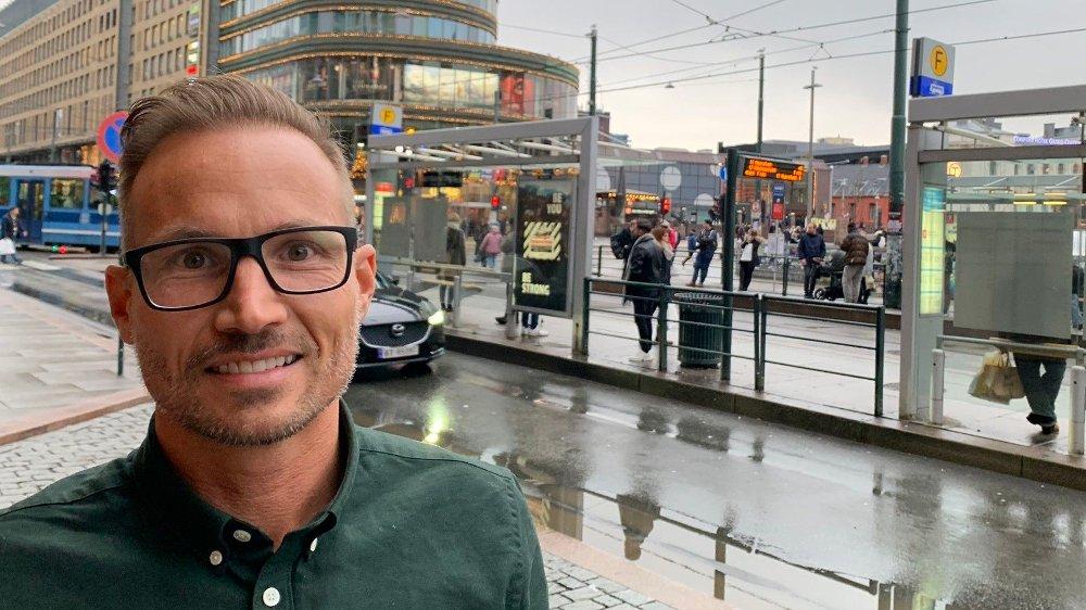 Klikk på bildet for å forstørre. TRENGER EKSTAR SIKKERHET: - Svindlerne benytter en mer og mer avansert form for sosial manipulering - det handler om å få man folk til å oppgi sine personlige opplysninger frivillig, sier Jonas Breding, nordisk sjef i Paypal.