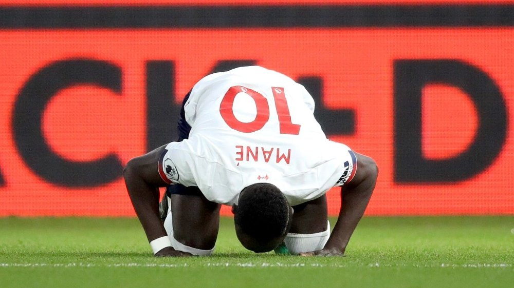 Klikk på bildet for å forstørre. AVGJORDE: Sadio Mané var banens beste for Liverpool mot Palace.