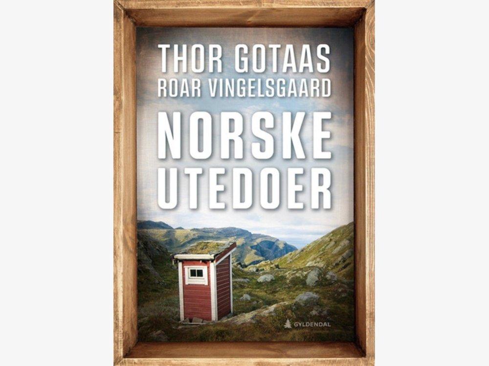Klikk på bildet for å forstørre. Norske utedoer av Thor Gotaas og Roar Vingelsgaard
