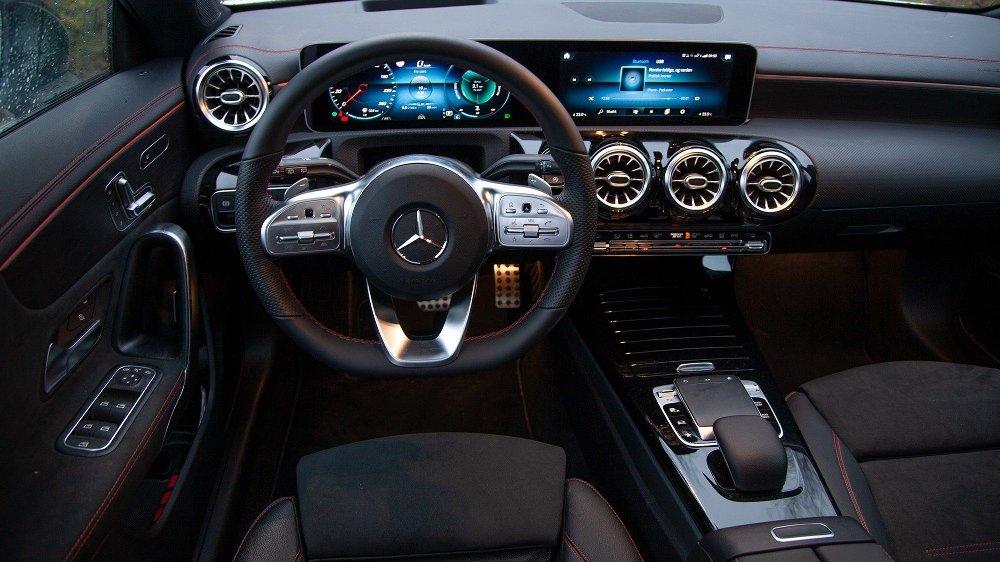 Klikk på bildet for å forstørre. Mercedes CLA Shooting Brake