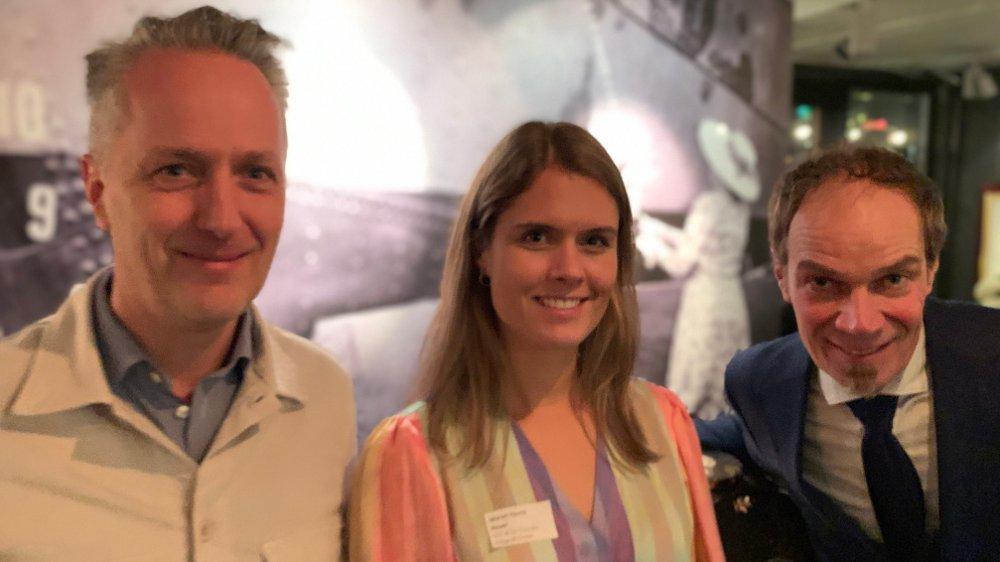 Klikk på bildet for å forstørre. FINANSIERER ELFERGA: Maren Hjorth Bauer, CEO i Katapult Ocean har klokkertro på at selvkjørende elferger er fremtiden.