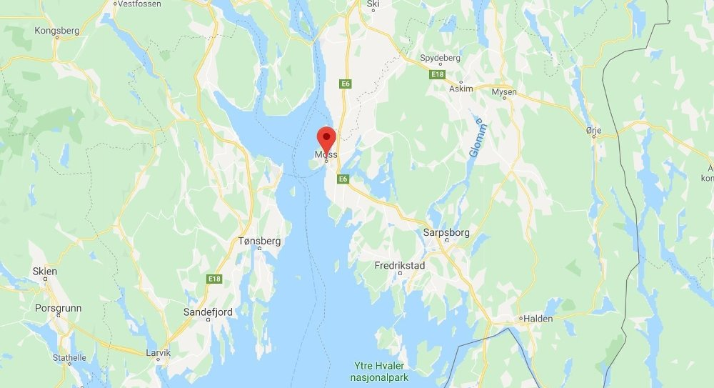 Klikk på bildet for å forstørre. kart over moss