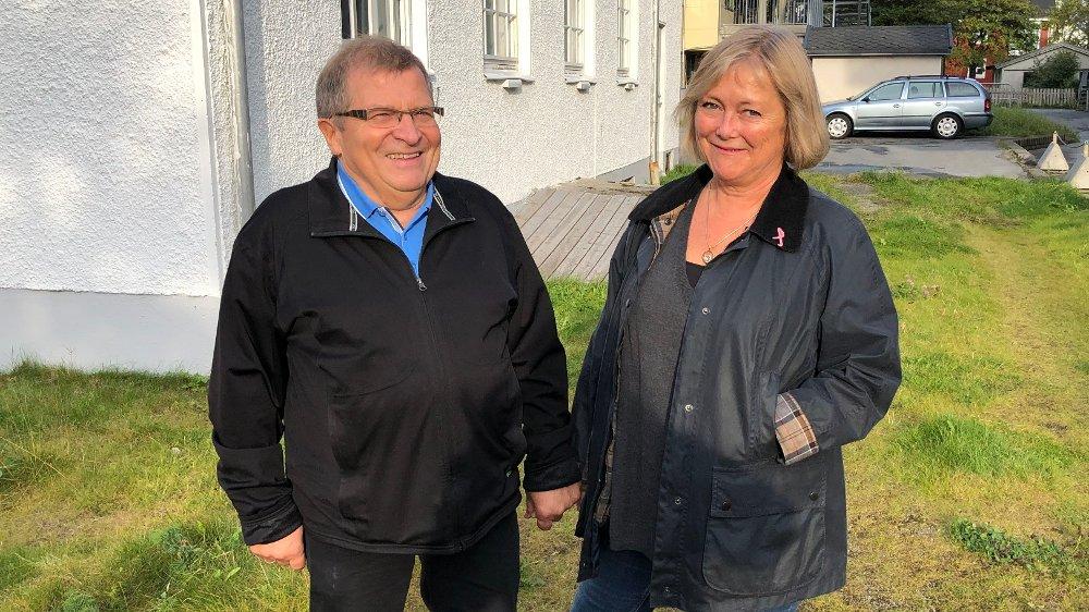Klikk på bildet for å forstørre. Anne og Gunnar