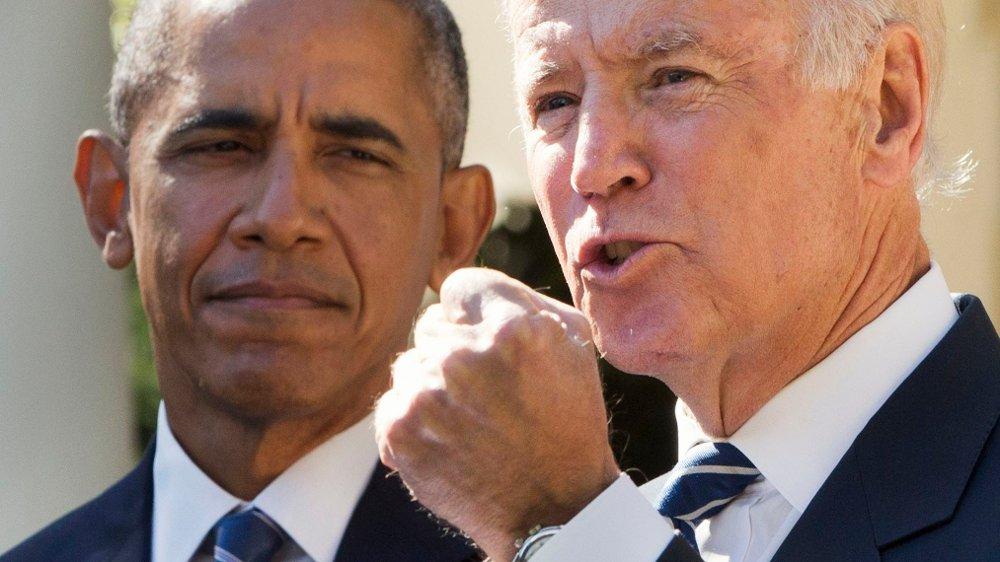 Klikk på bildet for å forstørre. Ifølge USA-ekspert Hilmar Mjelde mener det fullt ut tenkelig at Barack Obama tror noen andre enn Joe Biden vil være bedre egnet til å bli den neste amerikanske presidenten.
