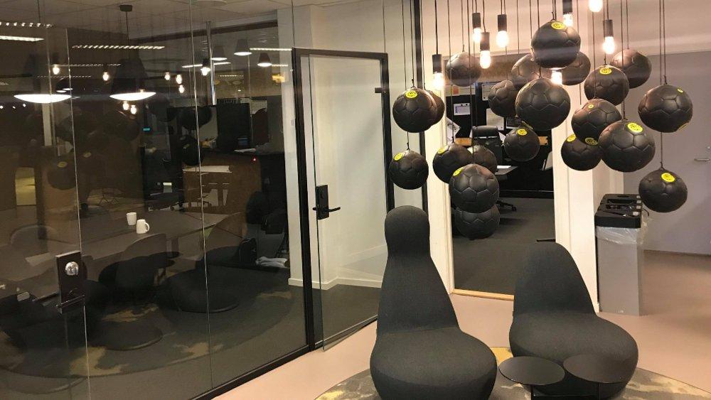 Klikk på bildet for å forstørre. ÅPENT: I lokalene til Bodø/Glimt er alle dører åpne, og alle er en del.