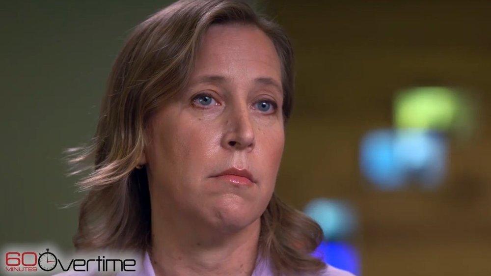Klikk på bildet for å forstørre. YouTube eies av Google, og Susan Wojcicki er toppsjefen i YouTube.