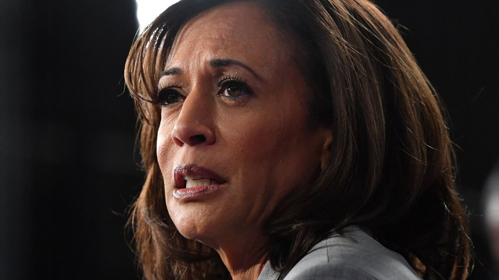 Klikk på bildet for å forstørre. California-senator Kamala Harris er ute av presidentkampen.