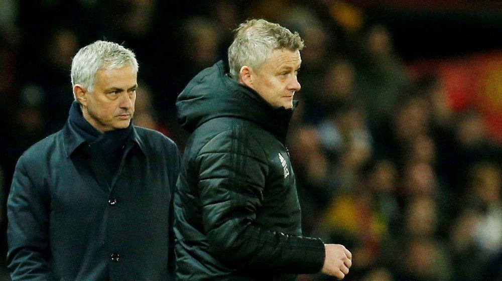 Klikk på bildet for å forstørre. TAP: José Mourinho fikk ikke gjensynet med Old Trafford som han hadde håpet.
