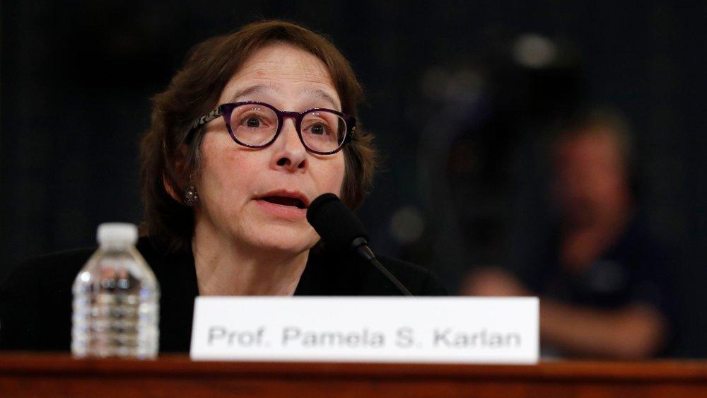 Klikk på bildet for å forstørre. Professor Pamela Karlan gikk senere ut og beklaget uttalelsen.