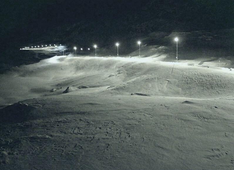 Klikk på bildet for å forstørre. E134 over Haukelifjell tirsdag morgen.