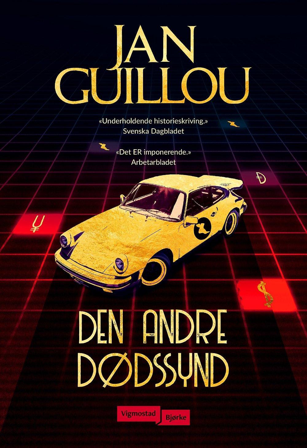 Klikk på bildet for å forstørre. Cover til Jan Guillous