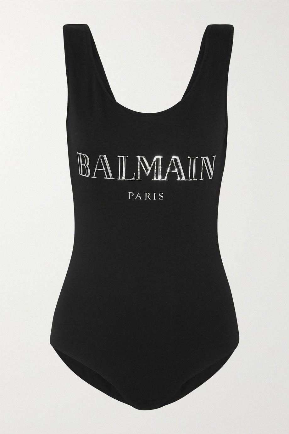 Klikk på bildet for å forstørre. Bodysuit fra Balmain