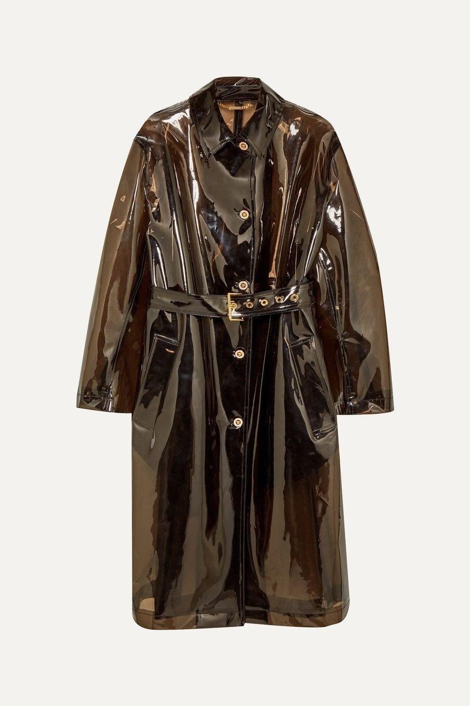 Klikk på bildet for å forstørre. Trench coat fra Versace