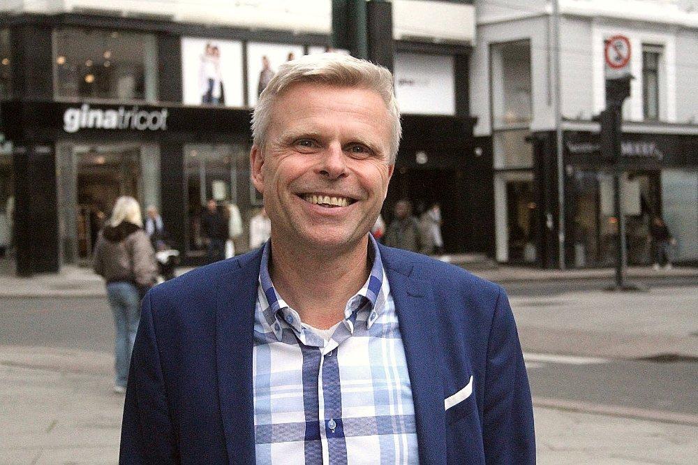 Klikk på bildet for å forstørre. KAN LE HELE VEIEN TIL BANKEN: Bjørn Erik Sættem i Nordnet traff innertieren da han bandt renten for ti år fremover.