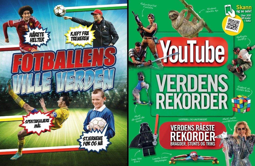 Klikk på bildet for å forstørre. Youtube og fotball