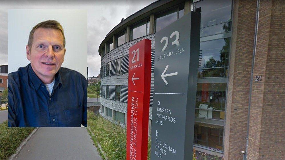Klikk på bildet for å forstørre. Assisterende direktør Kjell W. Johansen innfelt i bilde av Transportøkonomisk institutt