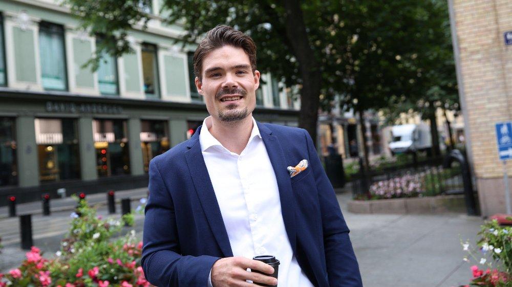 Klikk på bildet for å forstørre. ADVARER: Investeringsøkonom Mads Johannesen i Nordnet minner om at Norwegian-aksjen har høy risiko.