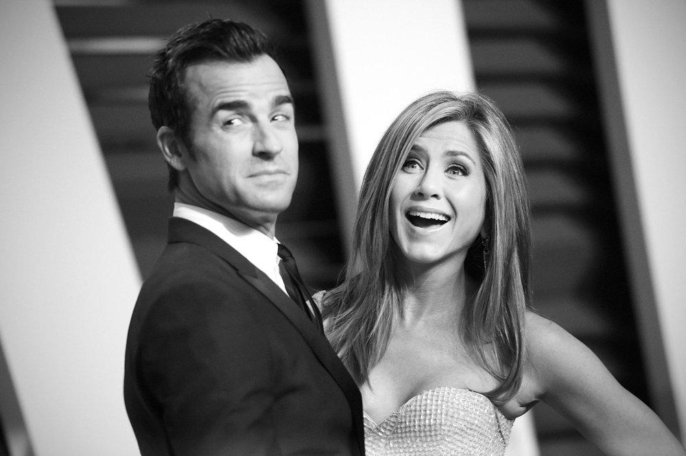Klikk på bildet for å forstørre. LYKKELIGE: Justin Theroux og Jennifer Aniston giftet seg i 2015.